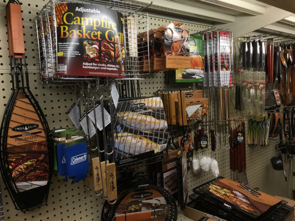 camping supplies at charlie johns in speculator